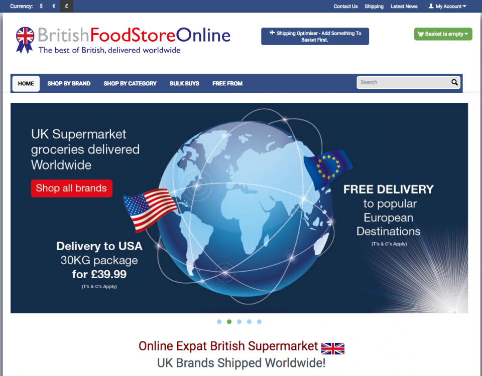 british food web development